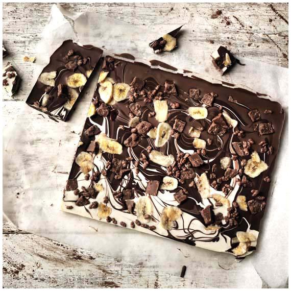 Banoffee Chocolate love food