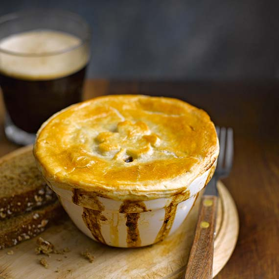 Beef and Stout Pies