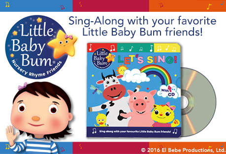 little baby bum book with cd